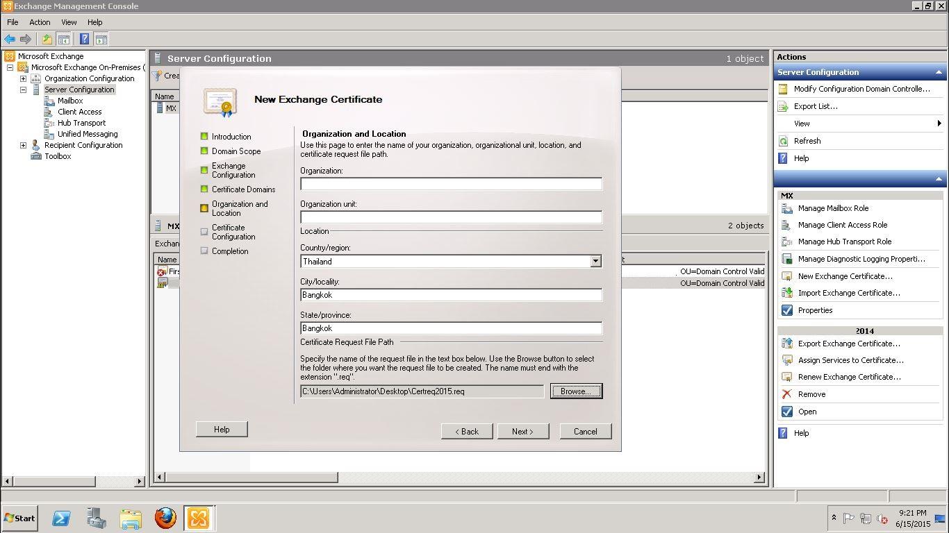Renew ssl certificate on exchange 2010 with rapidssl 11 xflitez Images