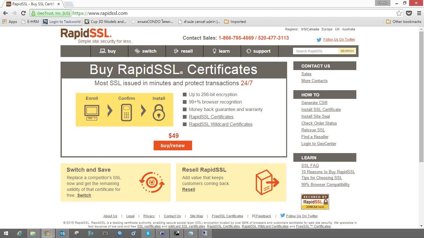 Renew Ssl Certificate On Exchange 2010 With Rapidssl